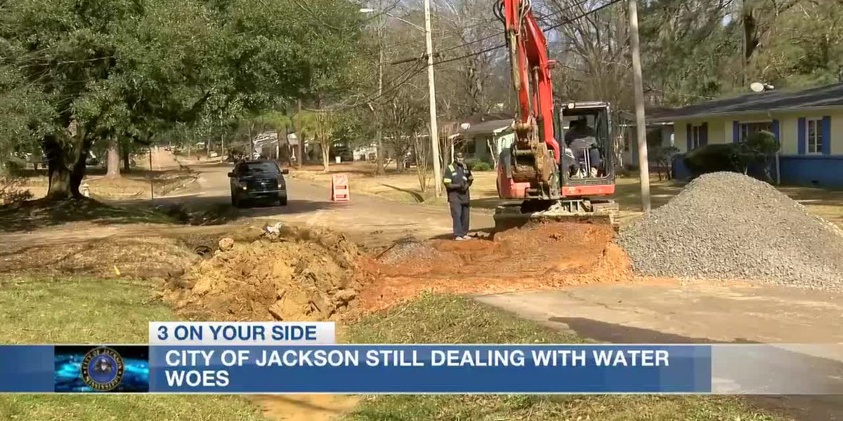 Report: Winter storms caused $18.7M in damage to water systems in Jackson, Hinds Co.