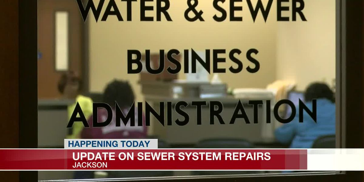 City of Jackson to announce progress on sewer system repairs