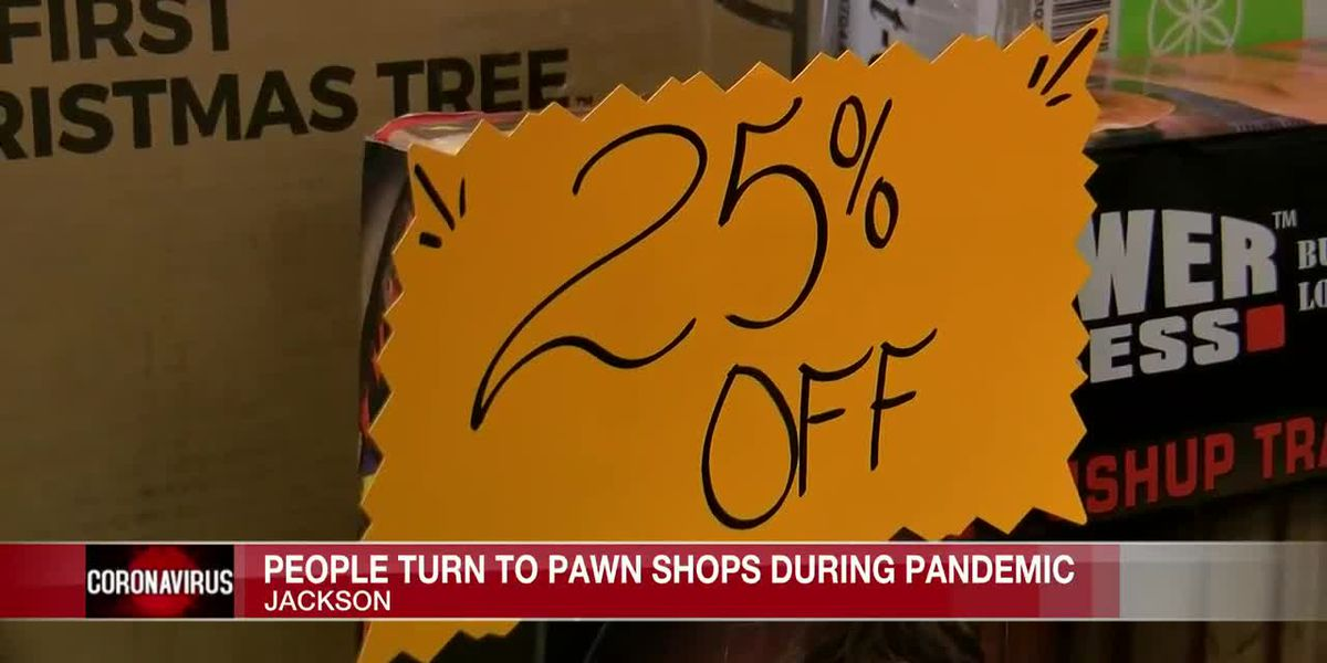 People turning to pawn shops for quick cash as pandemic continues