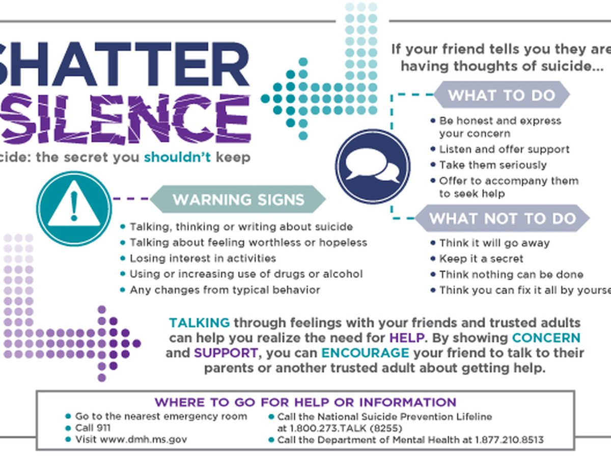 World Suicide Prevention Day: Department of Mental Health aims to 'shatter the silence' on suicide
