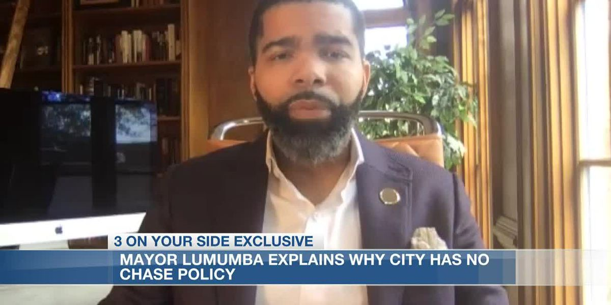Mayor Lumumba discusses rising COVID-19 cases and why the city has a no-chase policy