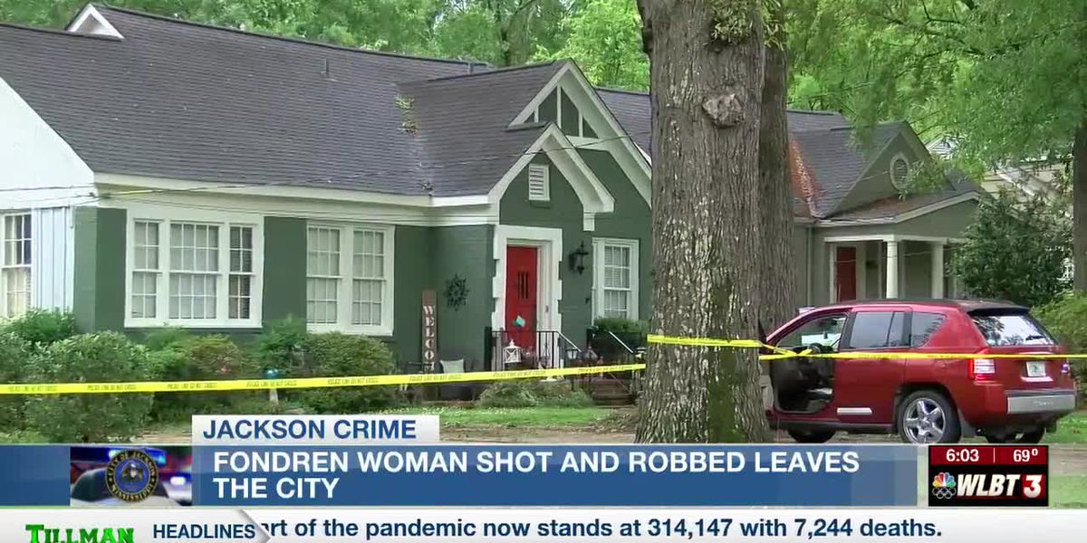 Woman shot and robbed in Fondren leaves the city as police search for her attacker