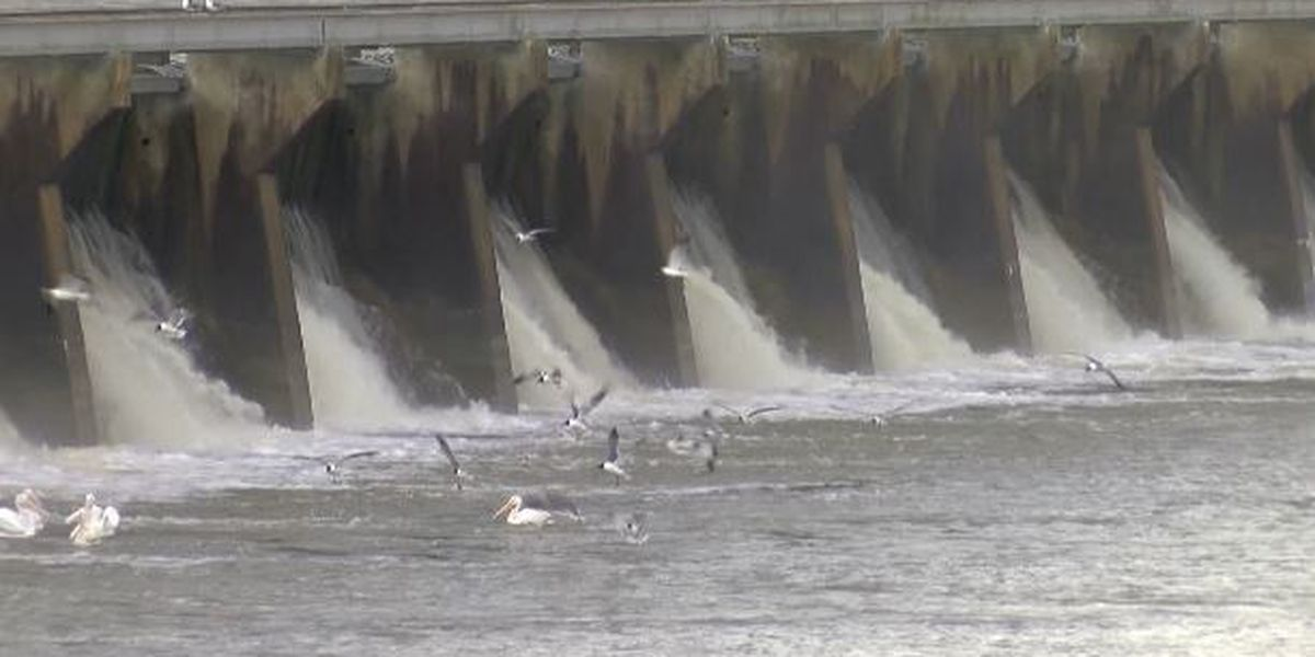 Army Corps of Engineers begin opening Bonnet Carre Spillway