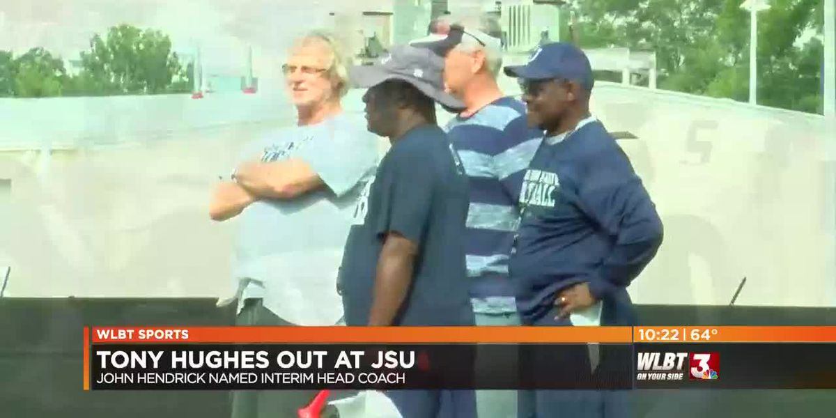 VIDEO: Tony Hughes out at Jackson State