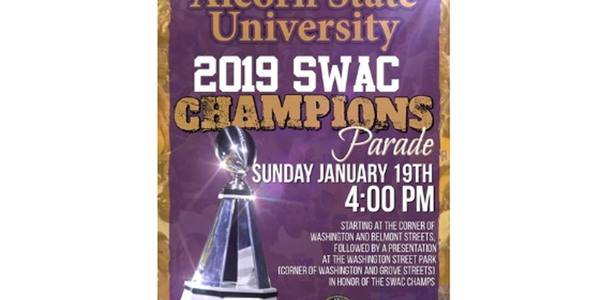 Alcorn Braves SWAC championship parade to be held in Vicksburg