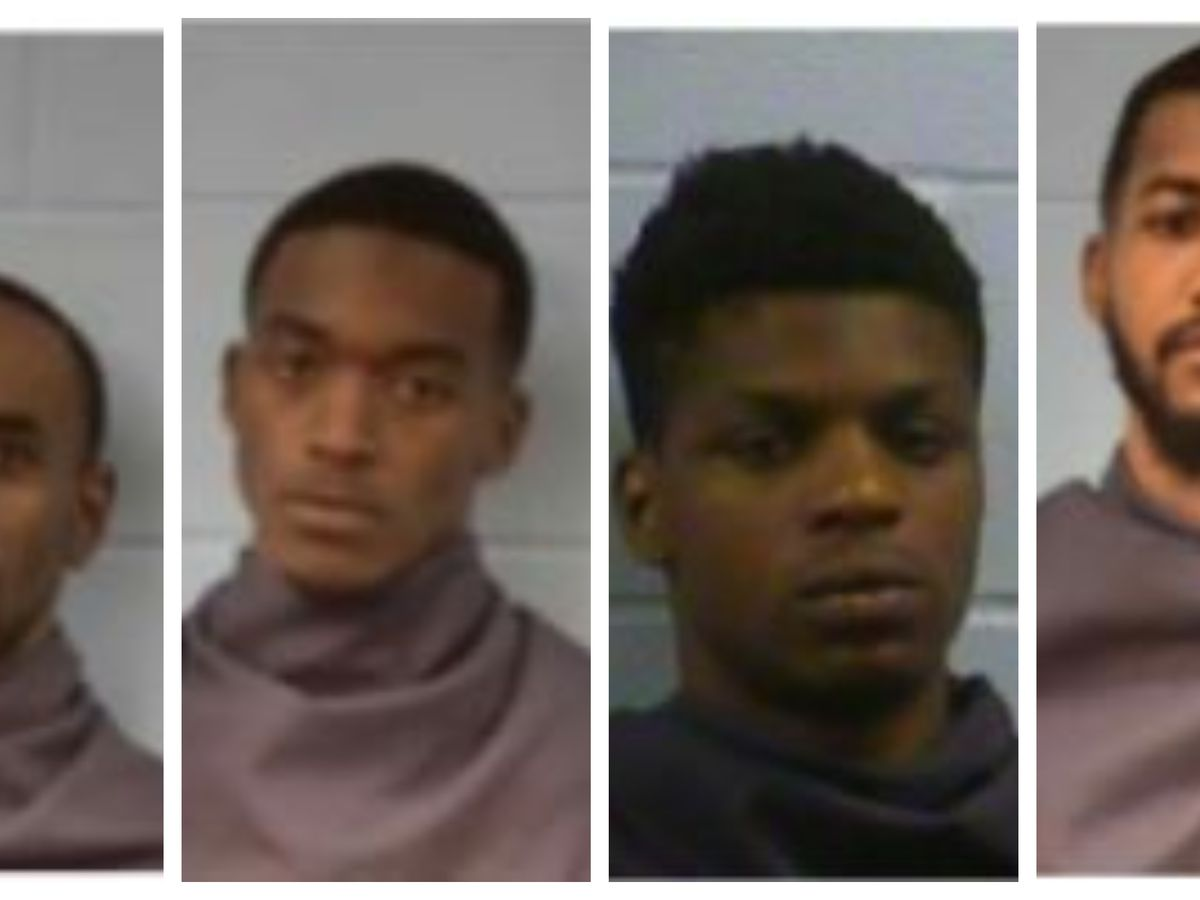 Bond set for five arrested in Vicksburg shootout