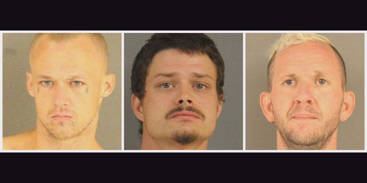 3 men found hiding behind Utica home arrested for burglary