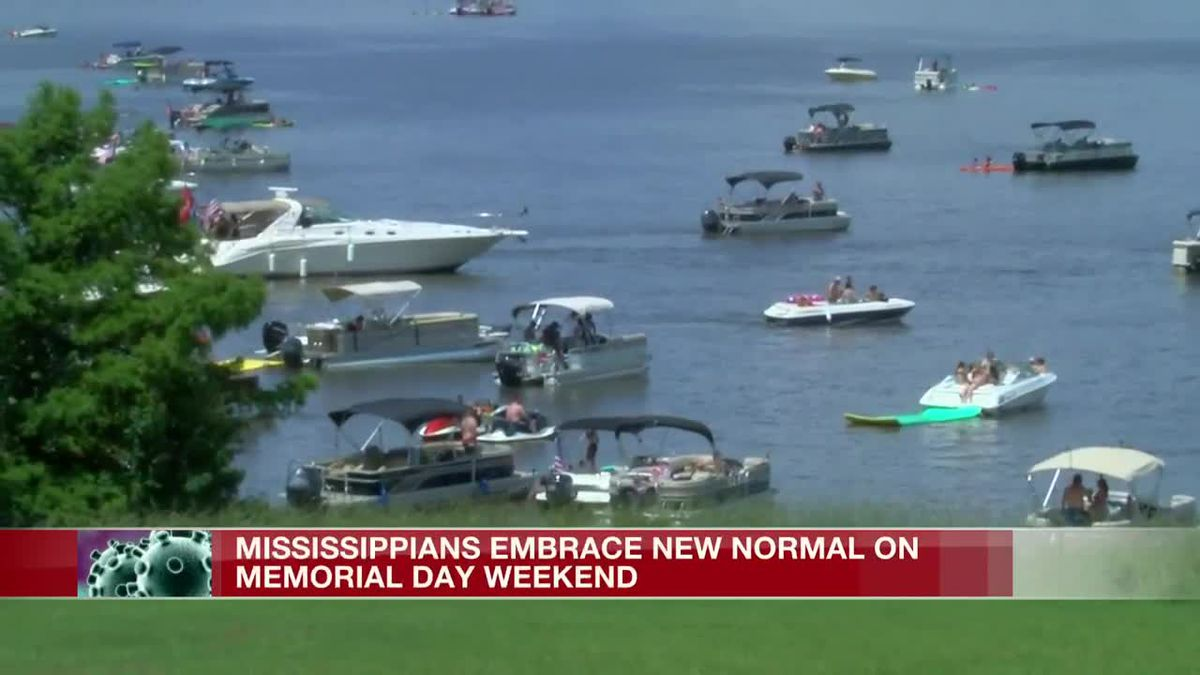 Mississippians embrace 'new normal' on Memorial Day weekend