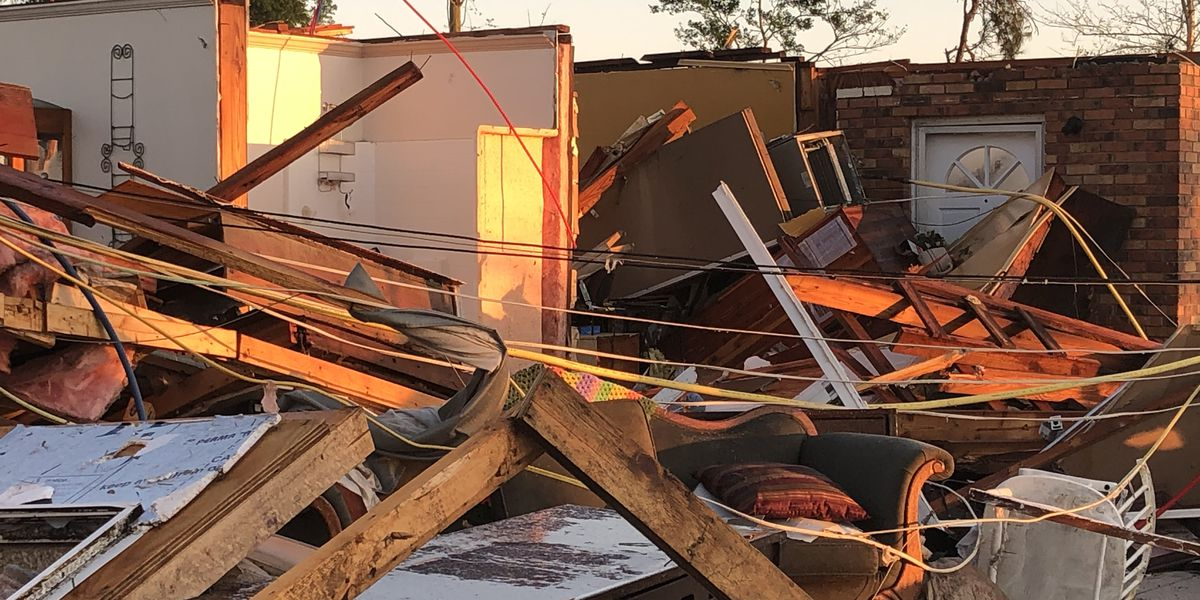 GALLERY: Walthall County home destroyed in Easter storms
