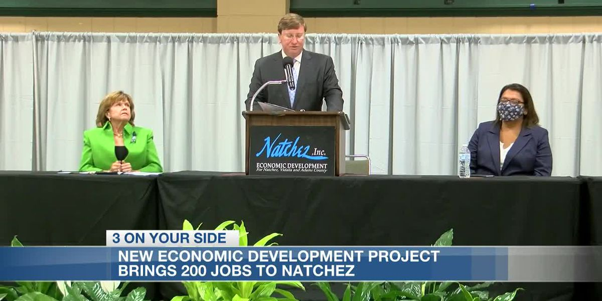 New economic development project brings 200 jobs to Natchez