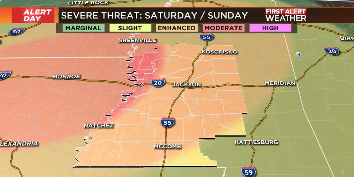 First Alert Forecast: severe storms likely late Saturday