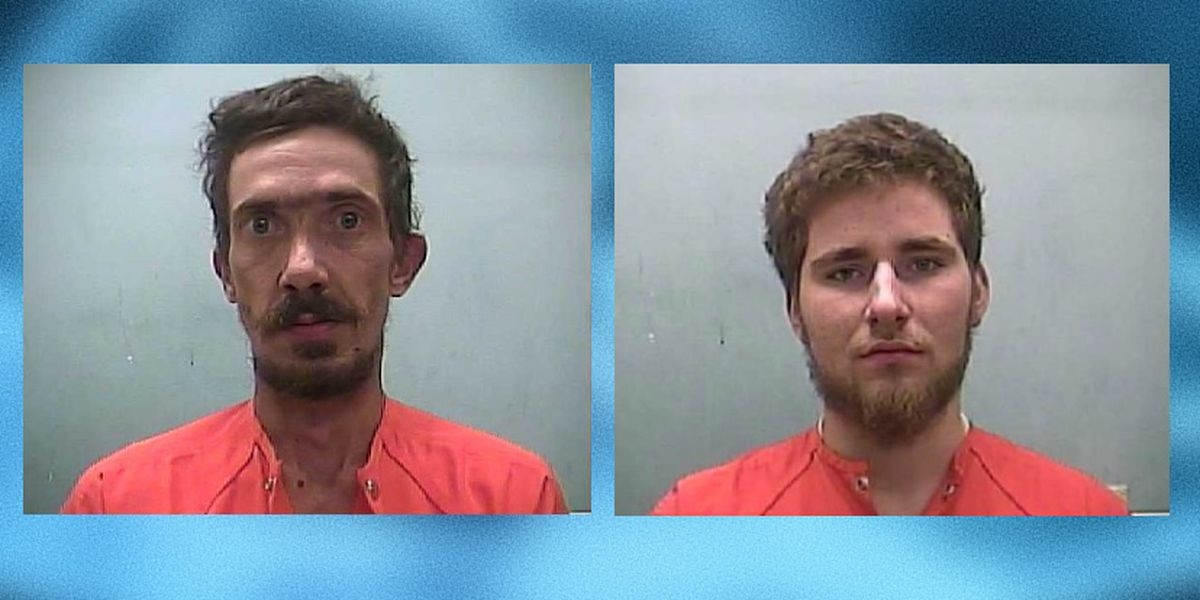 2 arrested after allegedly causing $20,000 worth of damage on Adams County property