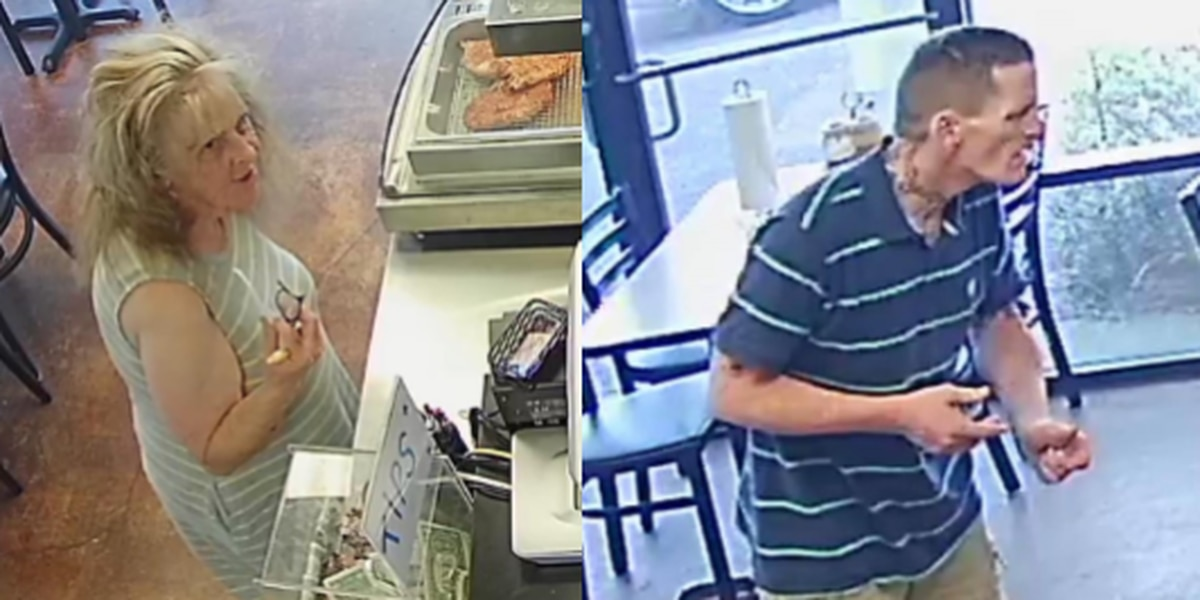 Flowood BBQ restaurant offering reward to catch suspects who used stolen check