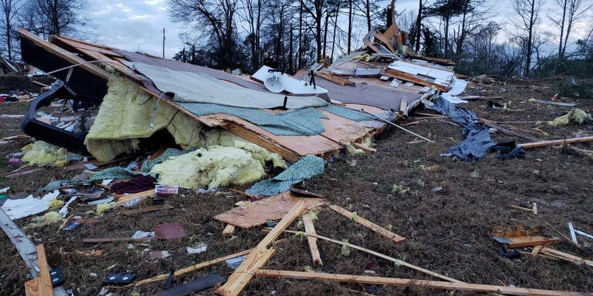Two people confirmed dead in Bossier Parish following early morning storms