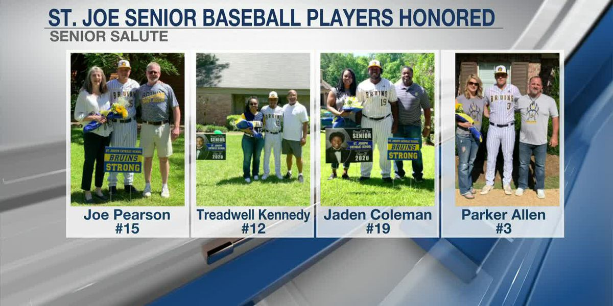 St. Joseph baseball seniors have special 'senior night'