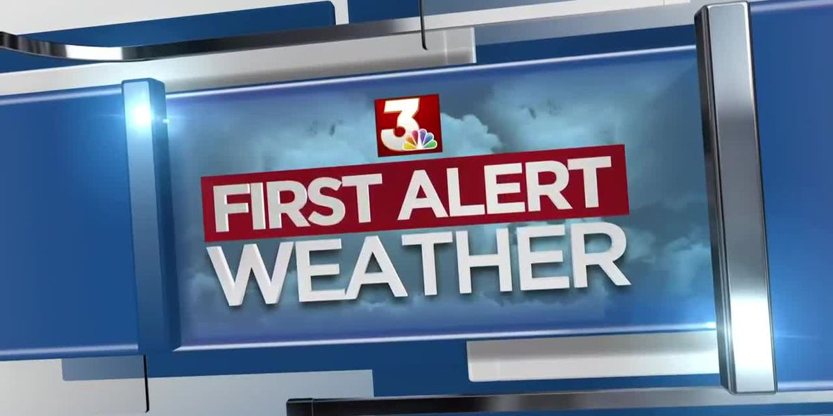 First Alert Forecast: rainy periods continue Friday