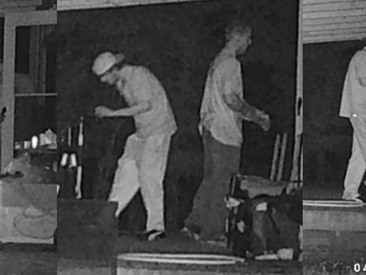 Clinton police searching for two suspects in Northside Drive West home burglary