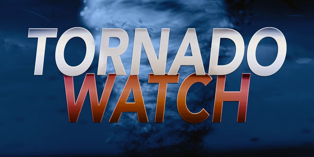Tornado Watch issued for several counties in Miss.