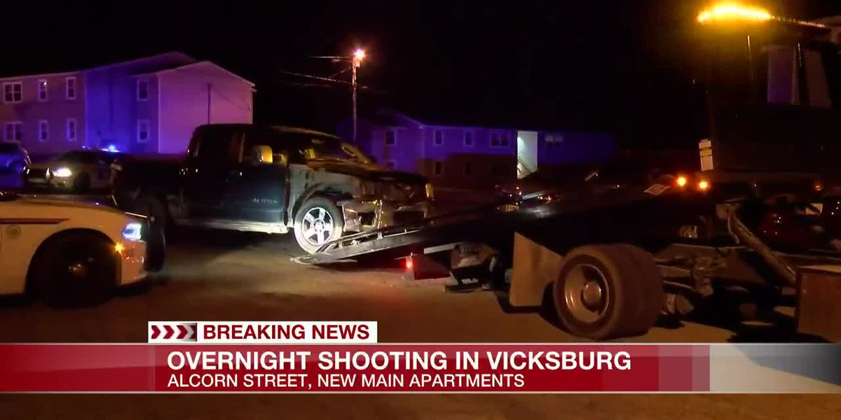 One injured in shooting at Vicksburg apartment complex