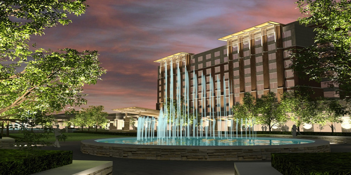 Construction continues on Refuge Hotel and Conference Center