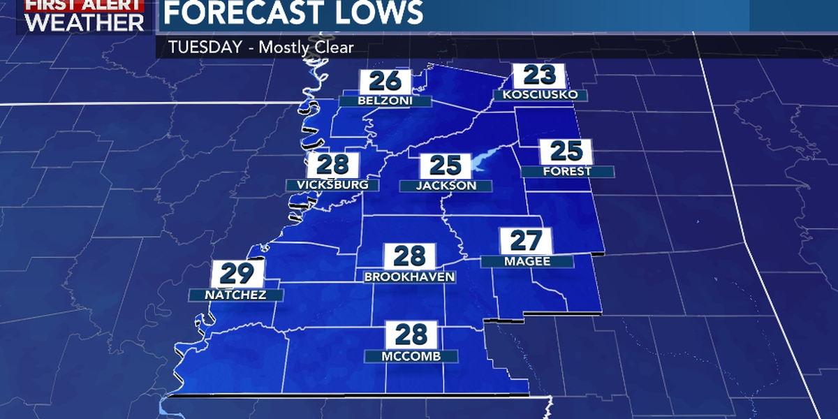 First Alert Forecast: turning harshly cold ending November, starting December