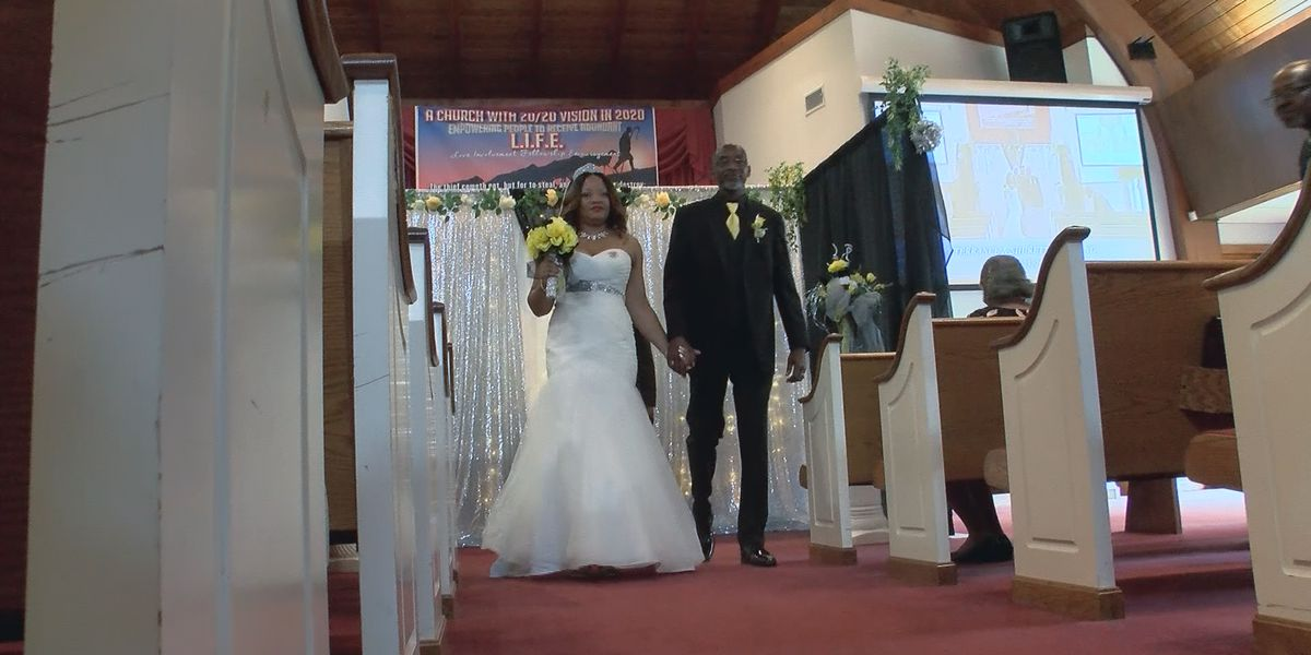 Jackson couple livestreams intimate wedding ceremony amid coronavirus outbreak