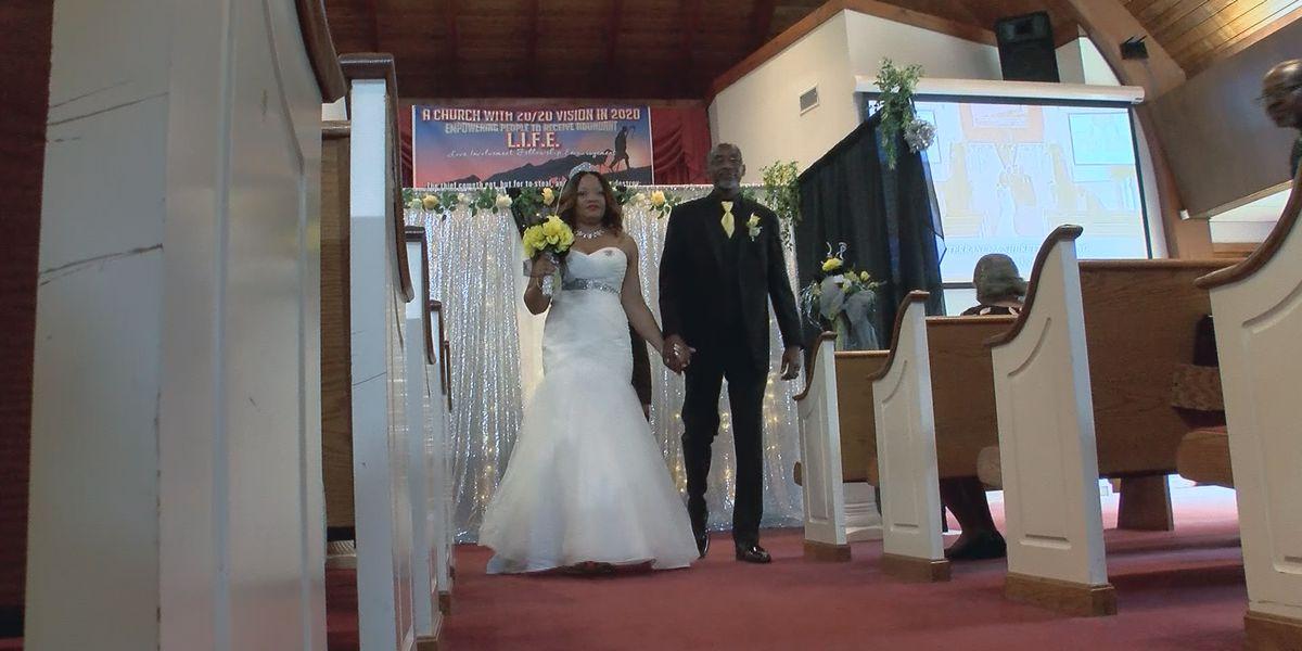 Jackson couple livestreams intimate wedding ceremony amid coronavirus outbreak