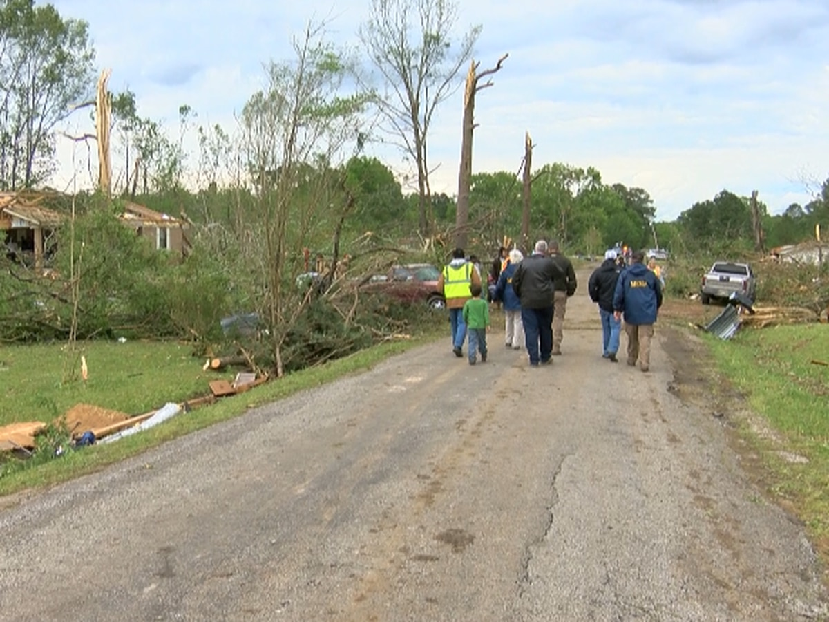 MEMA updates statewide damage reports after 17 tornadoes touch down across central Mississippi