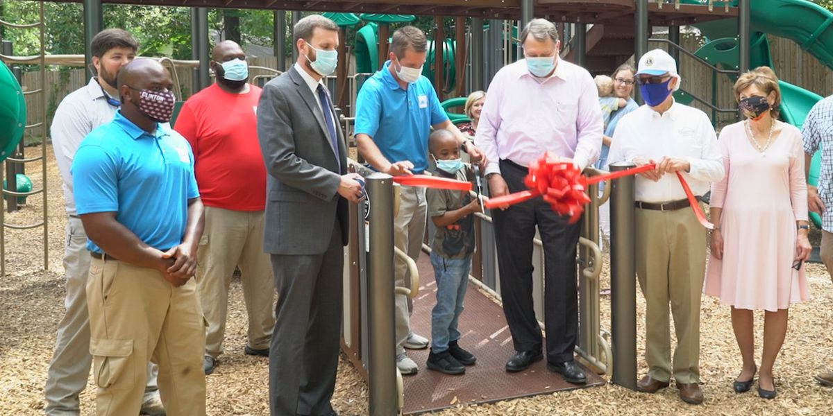 City of Clinton celebrates the reopening of Kids' Towne Park