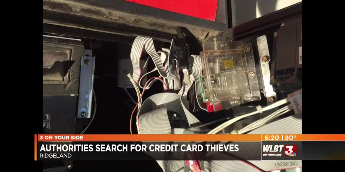Authorities search for credit card thieves