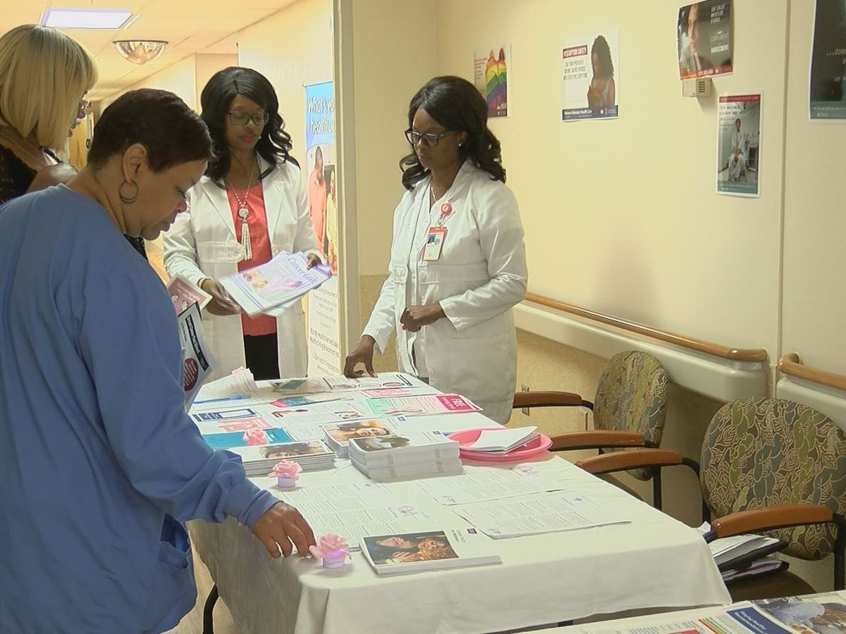 Jackson VA reaches out to female veterans during Women's Health Week