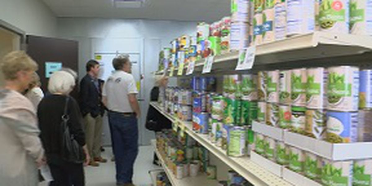 Stewpot Community Services unveils and dedicates new food pantry