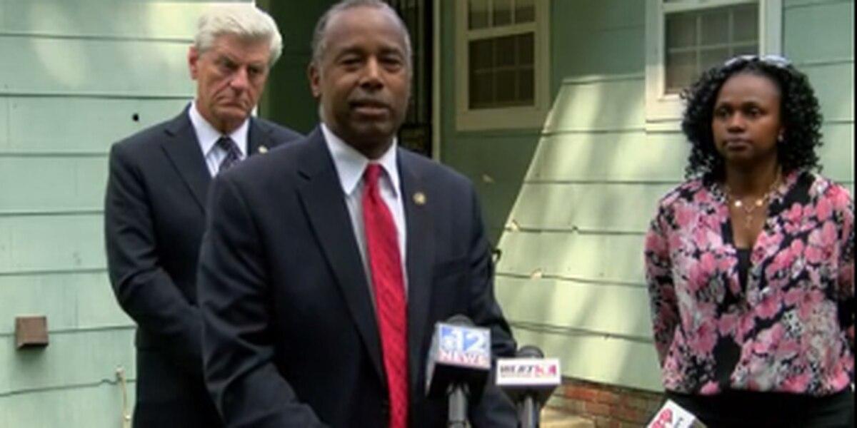 HUD Secretary Ben Carson in Jackson to announce $1.8 million dollar lead remediation grant