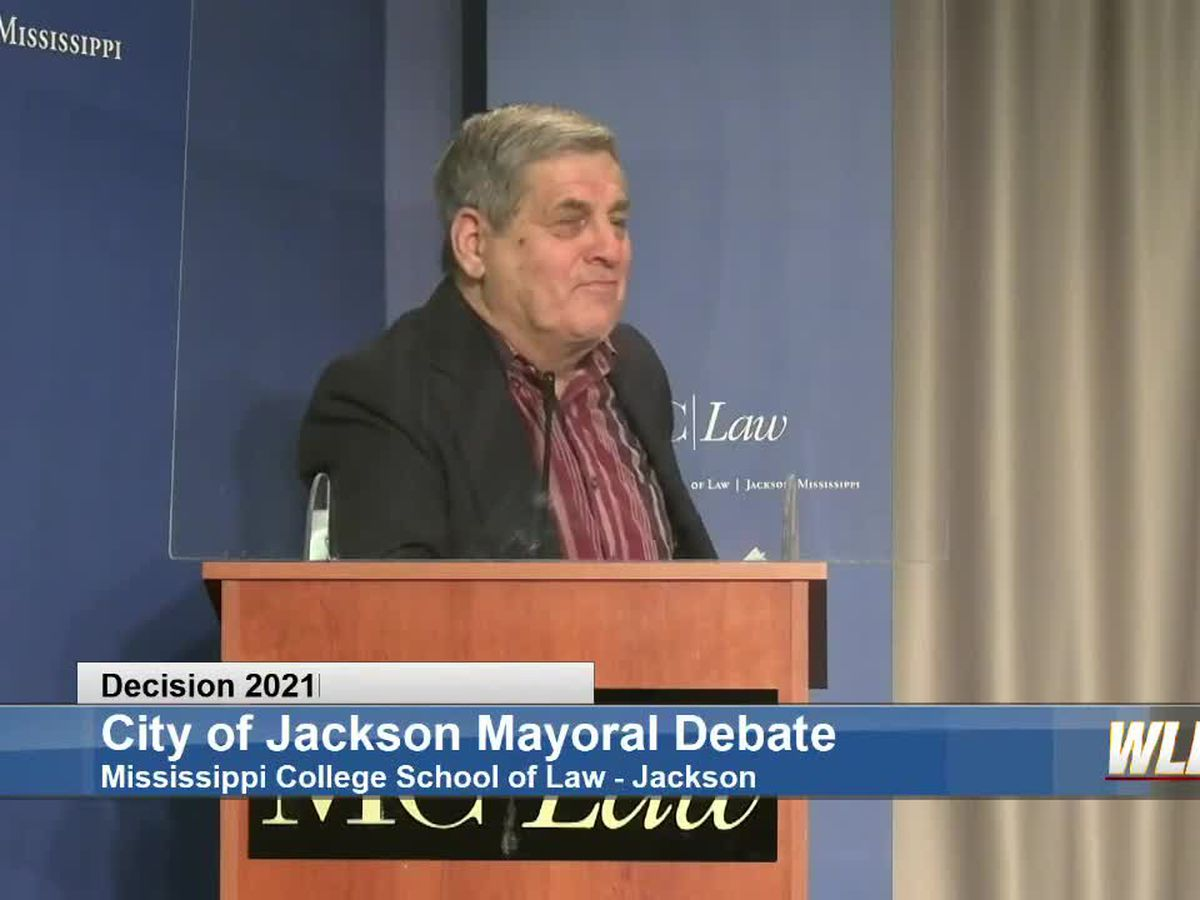 'I don't want to be the mayor of Jackson,' says Jackson mayoral candidate