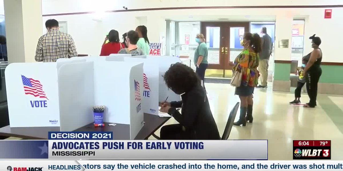 Mississippians push for early voting for everyone in the state