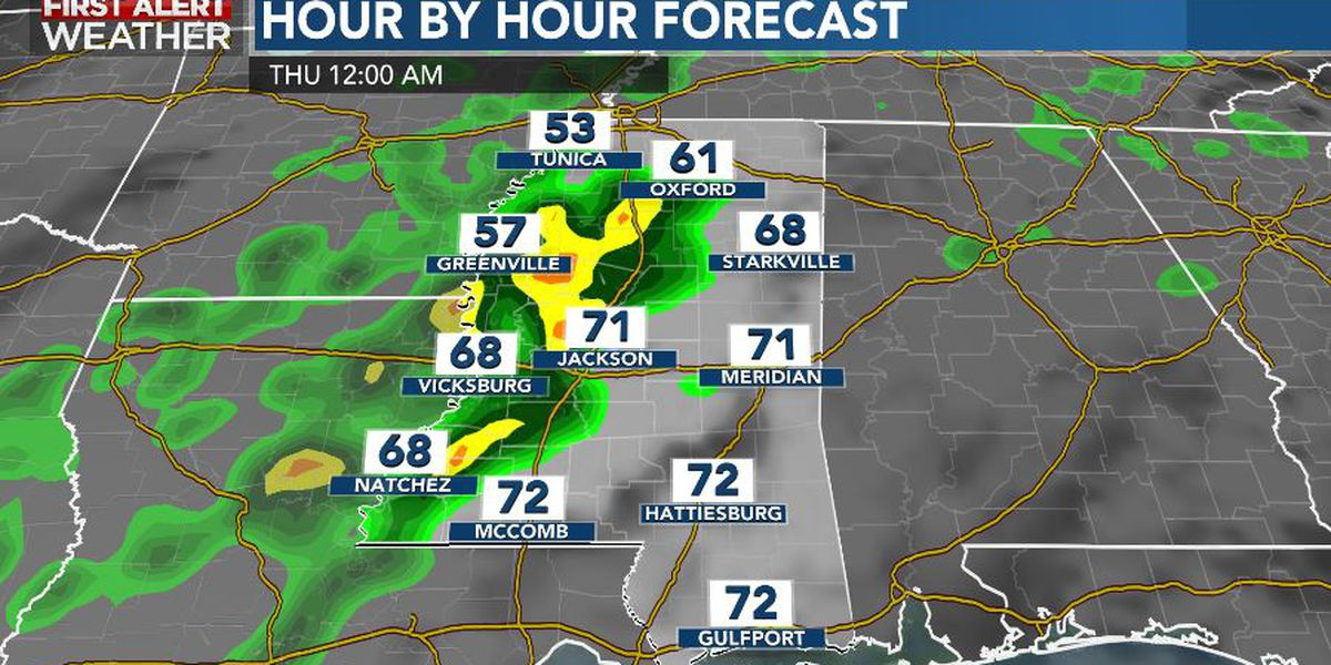 First Alert Forecast: stormy periods Wednesday; bone-chilling Thursday
