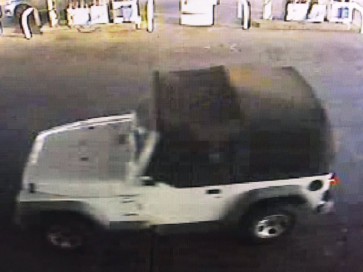 Police investigating after man robs Jackson gas station, leaves in white Jeep