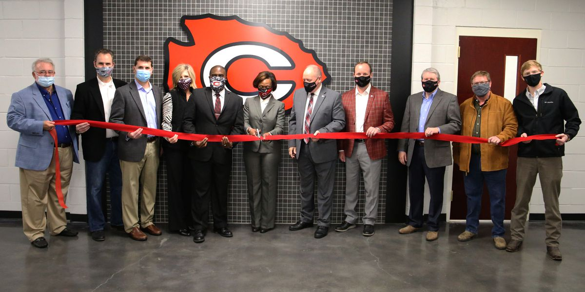 Clinton schools open new career, technical education center