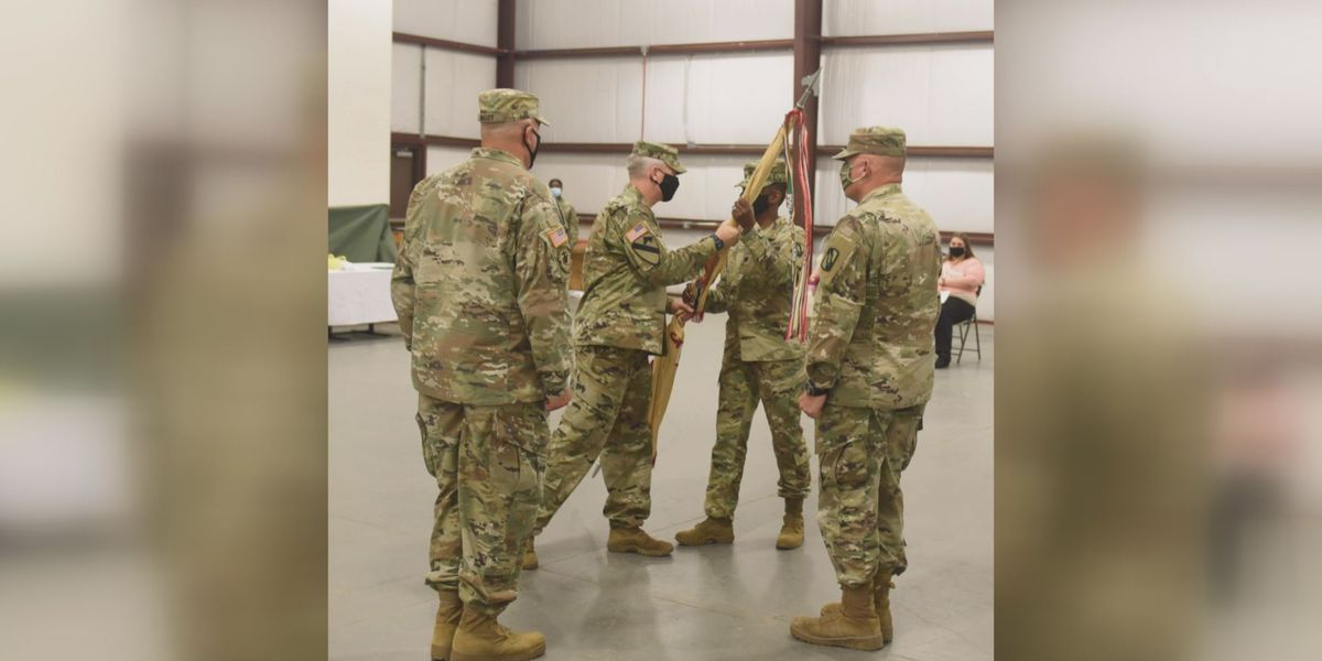 Miss. National Guard's largest unit welcomes first female battalion commander