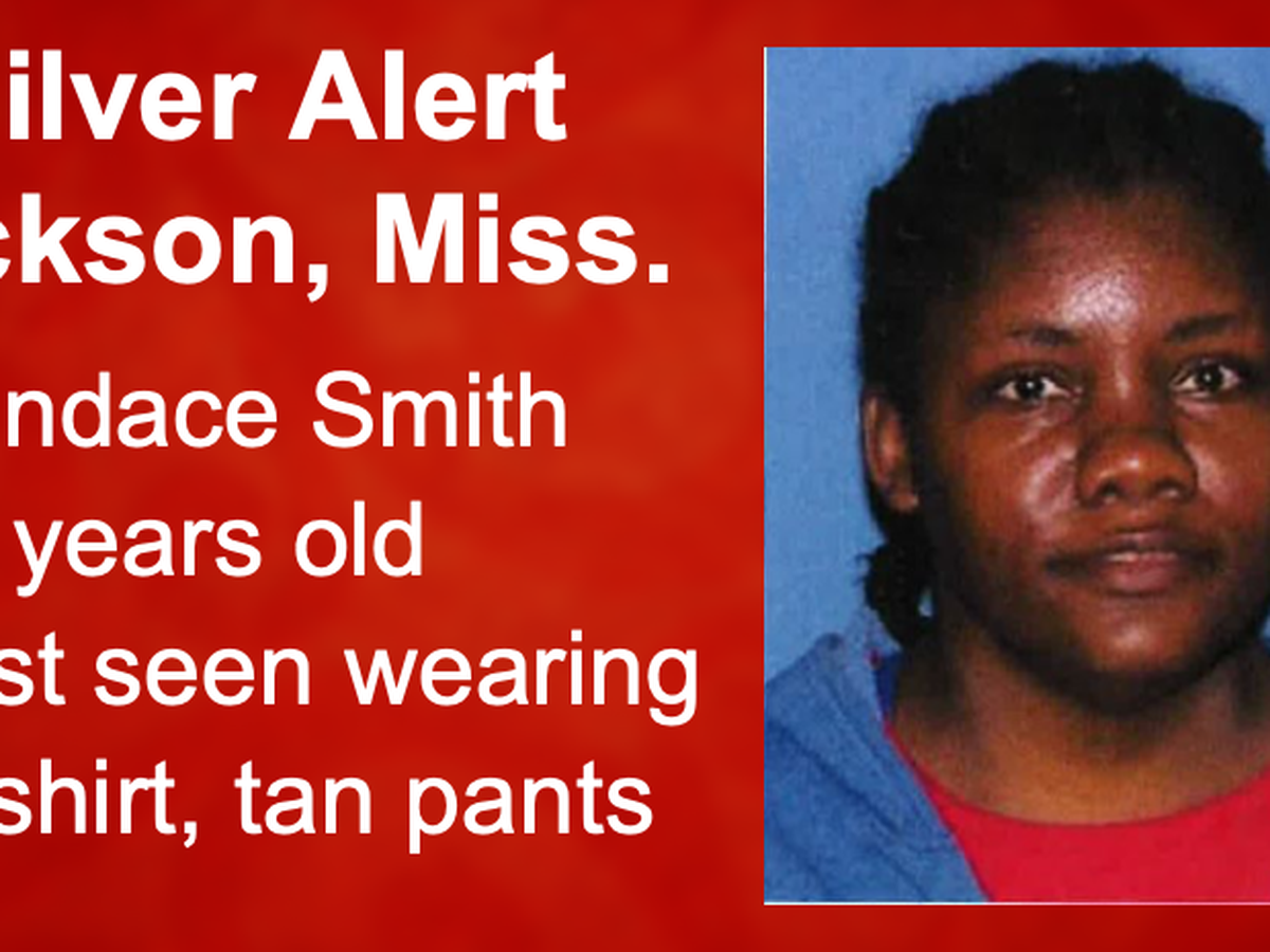 Silver Alert issued for 47-year-old Jackson woman