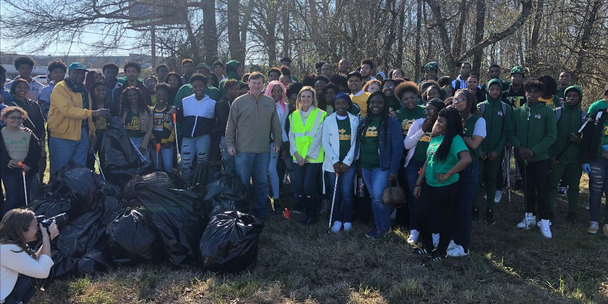 Miss. First Lady kicks off Team Up 4 Clean Up campaign in Jackson