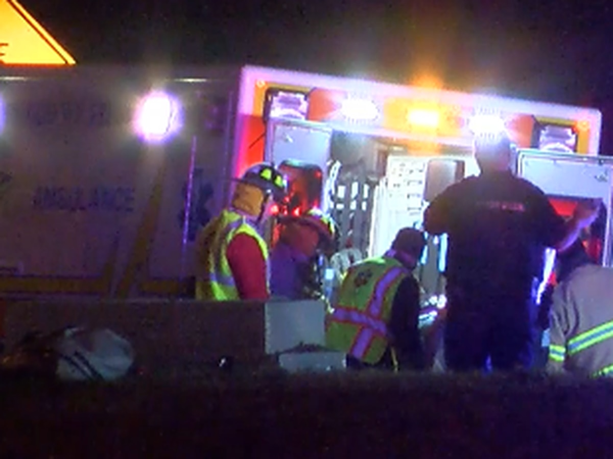 One dead, another injured after overnight crash on I-20