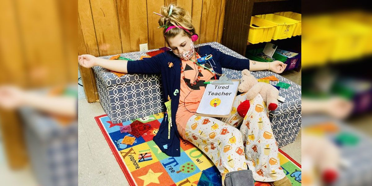 'There's no tired like a 2020 teacher!' Miss. educators nail Halloween costumes