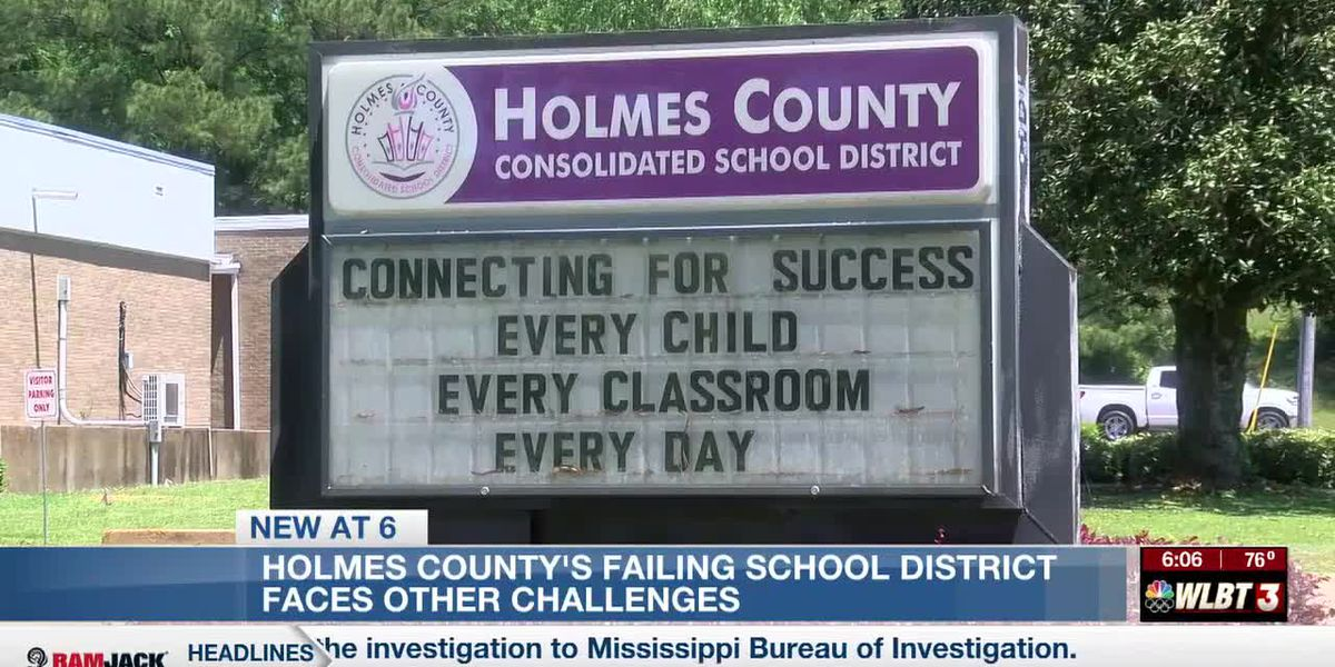 'F' rated Holmes County School District faces challenges at year's end