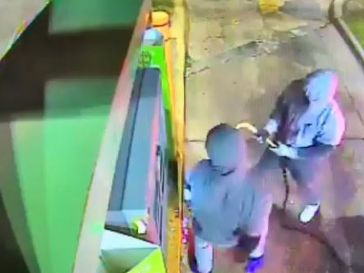 WATCH: JPD needs help to ID individuals who destroyed ATM
