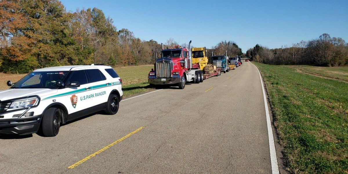 Park Rangers say overweight trucks are destroying Natchez Trace Parkway