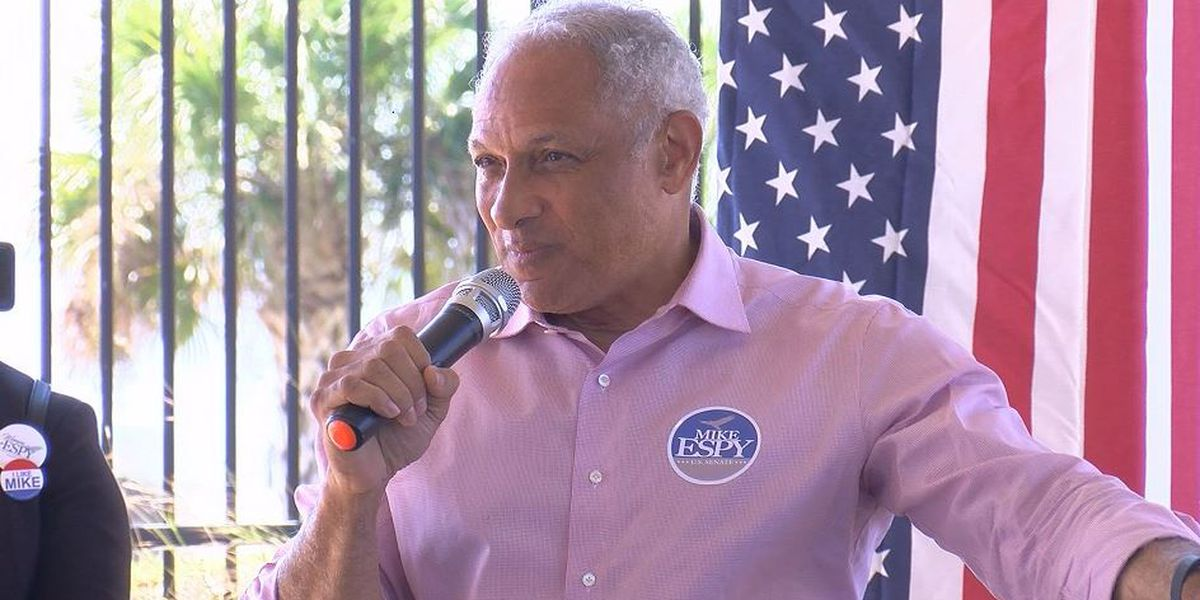 U.S. Senate Candidate Mike Espy speaks out after historic vote on Miss. flag