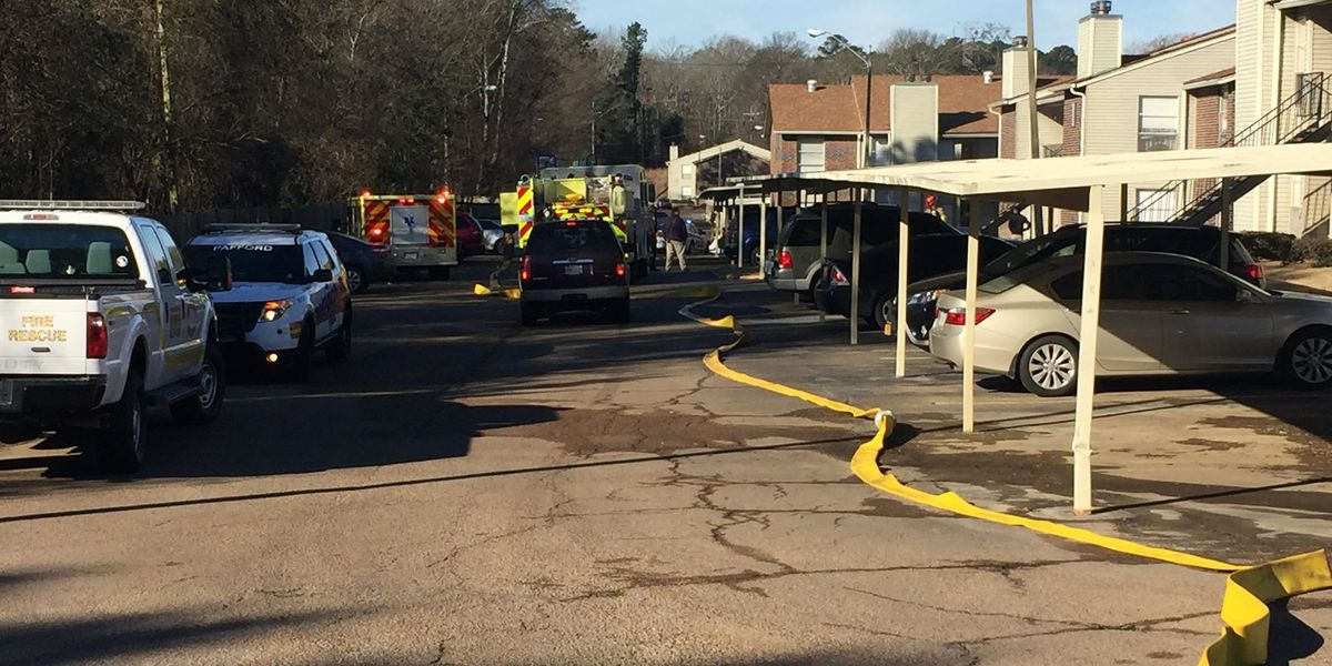 Ridgeland apartment complex catches fire
