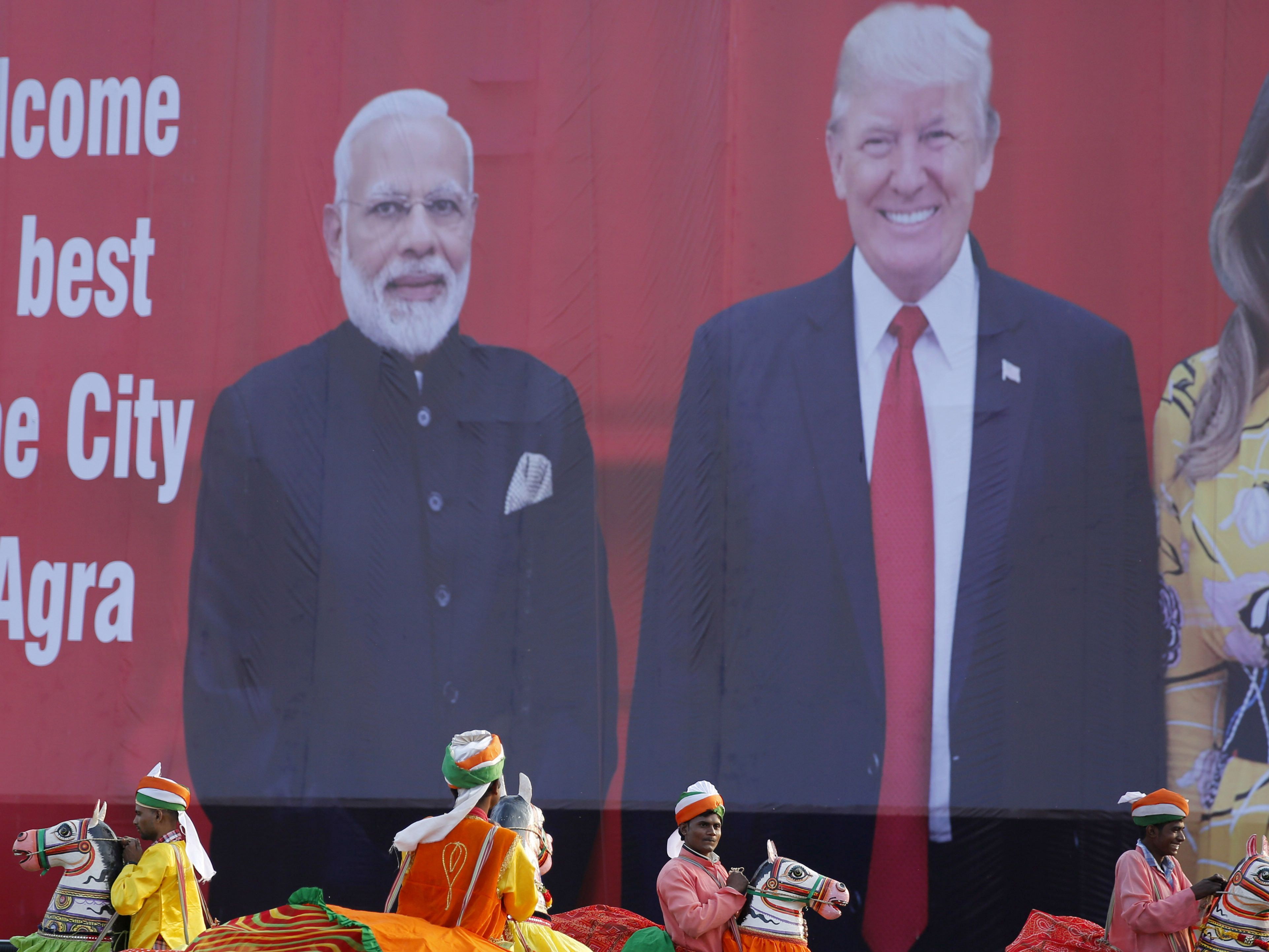 Passage to India: Trump ready for warm embrace, adulation