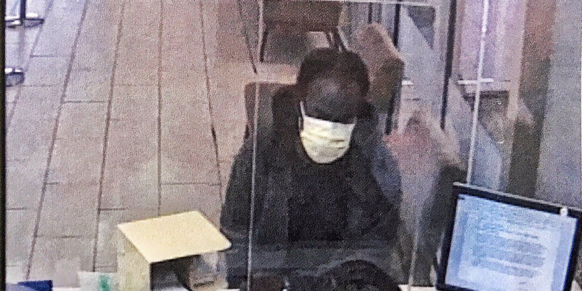 Police searching for suspect who attempted bank robbery at Trustmark